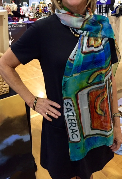 New Orleans Cocktails Scarf by Jax