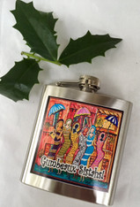 Gumbeaux Sistahs French Quarter Flask Special