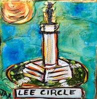 Lee Circle Mini Painting