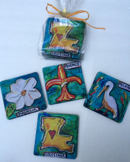Coasters in a Bag - Louisiana Set
