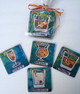 New Orleans Cocktails Coasters in a Bag Set