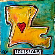 Louisiana mini painting
