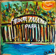Bogue Falaya Park Mini Painting