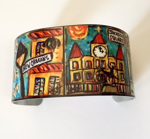 New Orleans Cuff Bracelet
