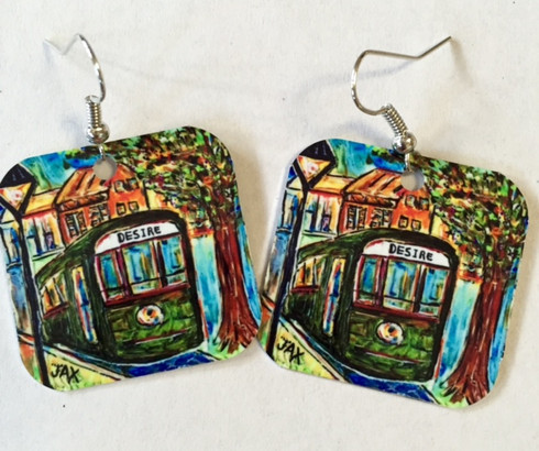 Streetcar Earrings