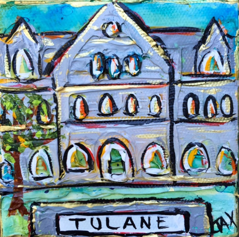 Tulane University Mini Painting