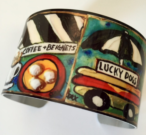 New Orleans Icons Cuff Bracelet