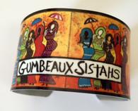 Gumbeaux Sistahs Cuff Bracelet