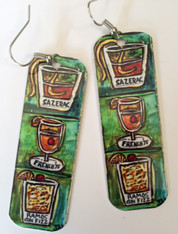 Earrings - New Orleans Cocktails