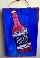 Wacky Jax Aneeda Beer sign
