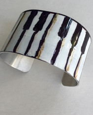 Piano Cuff Bracelet by Jax