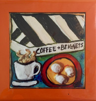 Coffee & Beignets Wall Art
