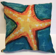 Starfish pillow/ Beach pillow