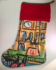 Christmas Stocking - Jackson Square