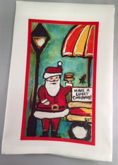 Tea Towel - Have a Lucky Christmas!