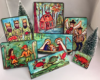 Nativity Scene - Cajun style