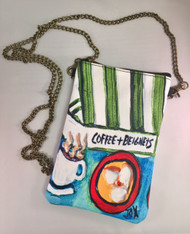 Chain Purse - Coffee & Beignets