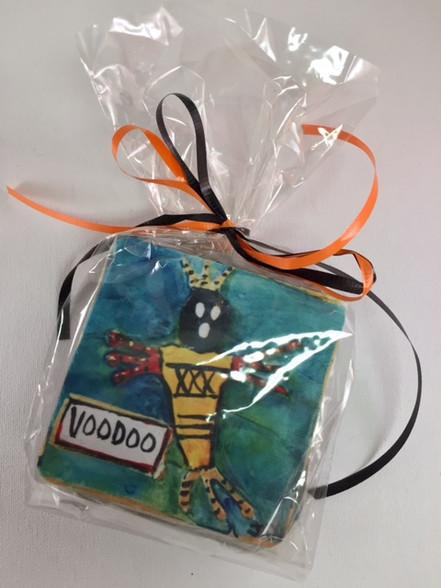 Voodoo Coasters in a bag set
