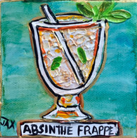 Absinthe Frappe Mini Painting