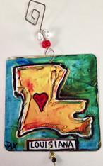 Louisiana Ornament