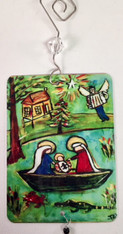Cajun Nativity Scene Ornament
