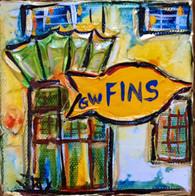 GW Fins mini painting