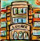 Lusher high school mini painting