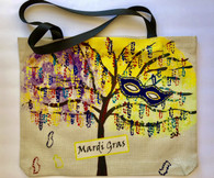 Mardi Gras Tote Bag - New Orleans Art