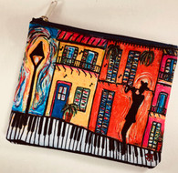Cosmetic Bag - Piano Sidewalks