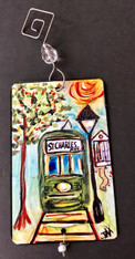 St. Charles Ave. Streetcar ornament - New Orleans