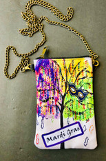 Chain Purse - Mardi Gras Bead Tree!