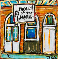 Molly's at the Market Mini Painting