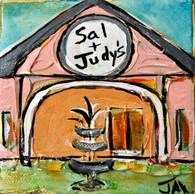 Sal & Judy's Mini Painting - Louisiana Art