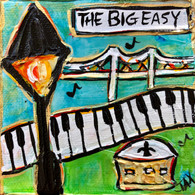 The Big Easy Mini Painting - New Orleans