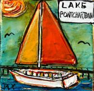 Lake Pontchartrain Mini Painting