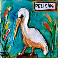 Pelican Mini Painting