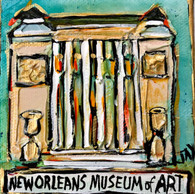 New Orleans Museum of Art Mini Painting