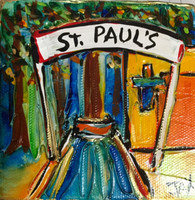 St Paul's School - Covington -  Mini Painting