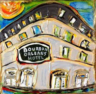 Bourbon Orleans Mini Painting