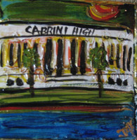 Cabrini High Mini Painting