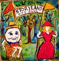 City Park Storyland Mini Painting