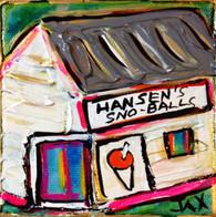 Hansen's Sno Balls Mini Painting