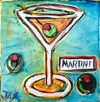 Martini Mini Painting