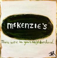 McKenzies Mini Painting