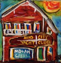 Mid City Yacht Club Mini Painting
