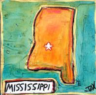 Mississippi Mini Painting