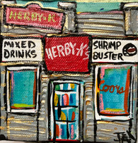 Herby-K's Mini Painting  Louisiana art