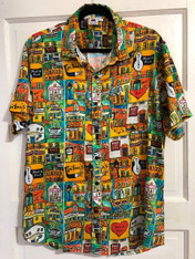 Men's Shirt - NOLA Love design