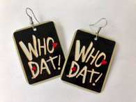 Who Dat Earrings