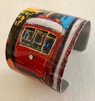 Streetcar Cuff Bracelet